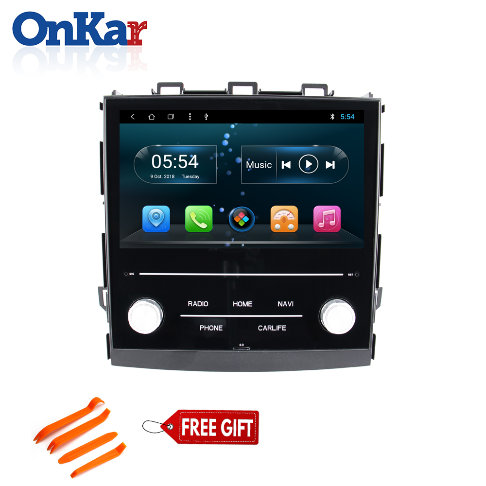 Autoradio ONKAR pour Subaru XV/Foreter/Impreza 2018 Android octa core 8.1 auto radio navi avec carte sd Port USB