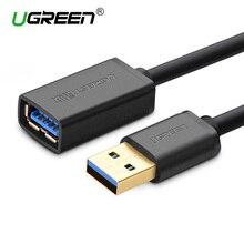 Ugreen Кабель USB 3.0 Super Speed USB 2.0 Кабель Мужчины к женский 0.5 м 1 м 1.5 м 2 м 3 м USB Синхронизации Данных Передача Удлинительный Кабель