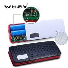 5x18650 PoverBank чехол power bank 3 USB зарядное устройство для телефона DIY портативное зарядное устройство корпус ЖК-дисплея банка питания(без батареи