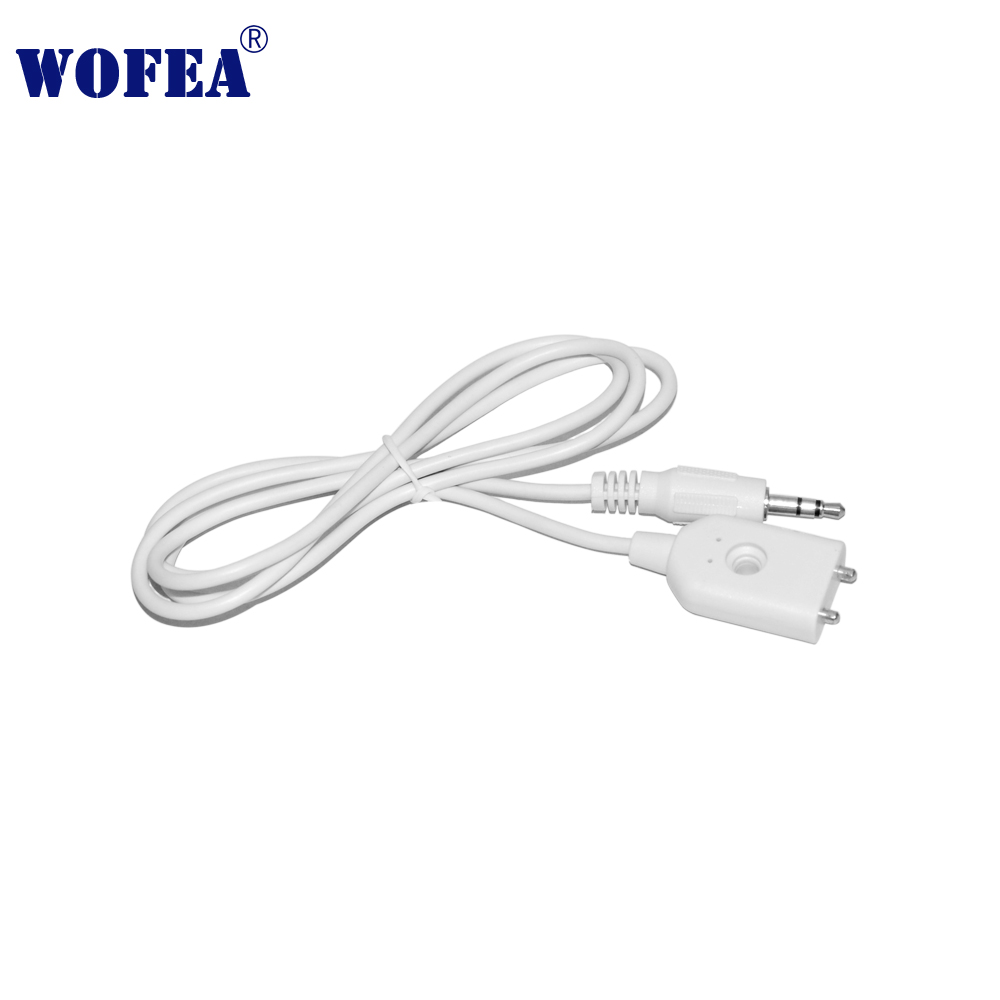 Wofea Wired Type Leakage Alarm Detector Water Sensor With 3.5mm Jack