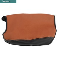 1 PCS DIY Car Styling New Leather The Central Armrest Protective Holster Cover Case For Toyota