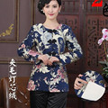 Hot Sale Multicolor Chinese Tradition Women's Think Coats Jackets Outerwear Women Tang Suit Jacket M L XL XXL 3XL 4XL