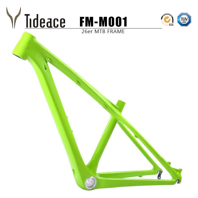Chinese kids carbon 26er mtb frame mtb carbon frame 26er 14/16inch carbon mtb frame 26 carbon kids frame with headset+clamp+BB92 mountain bike carbon frame 26er full carbon mtb bike frame 26er 14 16 t800 carbon fiber frame mtb with headset clamp bb92