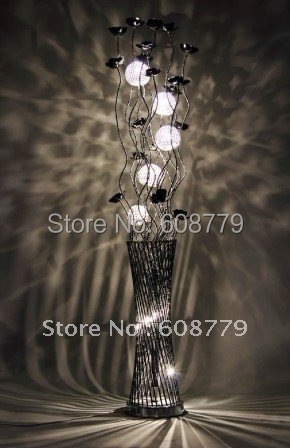 F020   New Arrival Free Shipping Contemporary Arine Floor Lamp-in Floor Lamps from Lights & Lighting on Decorationartshop