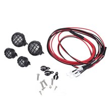 RC Rock LED Light Bar Kit for 1/10 Traxxas TRX4 Axial SCX10 RC4WD D90