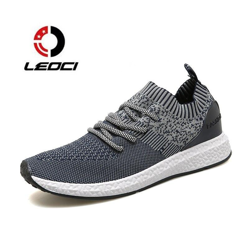 Men Lightweight font b Running b font font b Shoes b font Breathable Sock Outdoor Sports