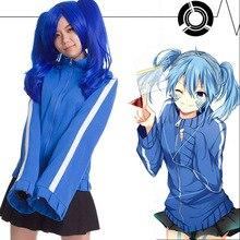 Kagerou projeto mekaku cidade atores ene takane enomoto hoodie + saia cosplay jaqueta uniforme cosplay traje