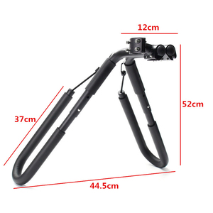 Image 5 - 8 inch bike Surfboard rack 25 32mm Wakeboard Bike holder Bicycle Surfing Carrier Mount To Seat Posts bicycle accessories