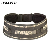 Tactical Padded Molle Sport Belt Mens Girdle Army Military Airsoft Combat Outer Breathable Universal Outdoor CS