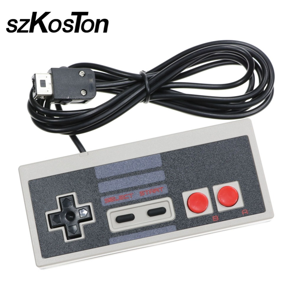 szKosTon New Game Controller Wired Joypad Gaming Controller Joystick Gamepad for Nintendo NES Classic Mini Hot Sale
