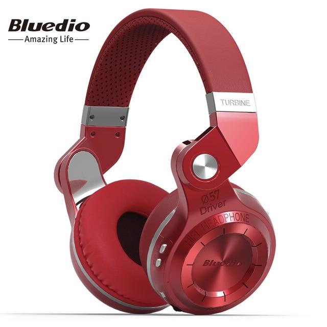 Bluedio t2s (break de chasse) bluetooth stéréo casque sans fil casque bluetooth 4.1 casque sur l'oreille casque