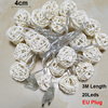 3M 20 LED String Lights Rattan Ball Garlands Holiday Wedding Party Decoration LED String Christmas Fairy Light For Outdoor       4