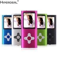 HIPERDEAL Mp3 Player 8GB Slim Digital MP3 Player LCD Screen FM Radio Video Games Movie
