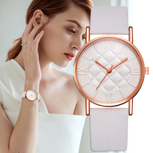 Fashion Women Leather Band Dress Quartz Wrist Watches Luxury