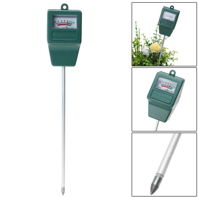 Soil pH Meter for Plants Crops Flowers Vegetable Soil Survey Instrument PH Meter Tester For Potting Agriculture