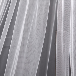 Image 5 - תחרה אפליקציות למעלה דשא 3*1.5M ארוך זנב אחד שכבה תחרה קצה ארוך רכבת יפה כלה רעלה עבור שמלת כלה
