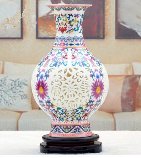 Ceramic Vase Large Landing Vase In Vases From Home Garden On