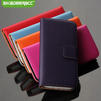 PU Leather Wallet Flip Phone Cases For IPhone 5s 6s 7 Plus Mobile Phone Shockproof Protective