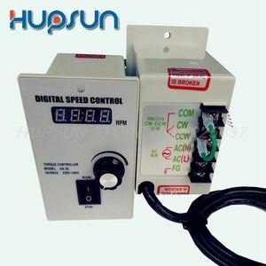 Image 1 - Hohe qualität präzise elektrische getriebe digitale geschwindigkeit controller für ac motor speed controller 400 watt ac 220 v motor geschwindigkeit controller