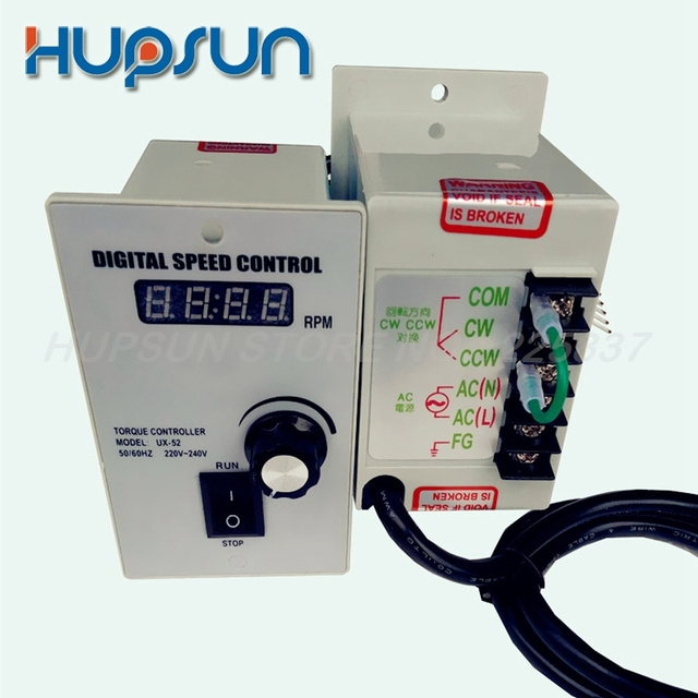 high quality precise electric gear digital speed controller for ac motor speed controller 400w ac 220v motor speed controller