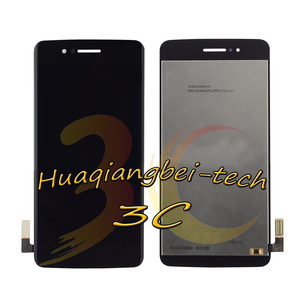 Image 3 - 5.0 New For LG LMX210MA Aristo LTE / K9 2018 LMX210EMW LMX210NMW LMX210EM Full LCD DIsplay + Touch Screen Digitizer Assembly With Frame 100% Tested-in Mobile Phone LCD Screens from Cellphones & Telecommunications on