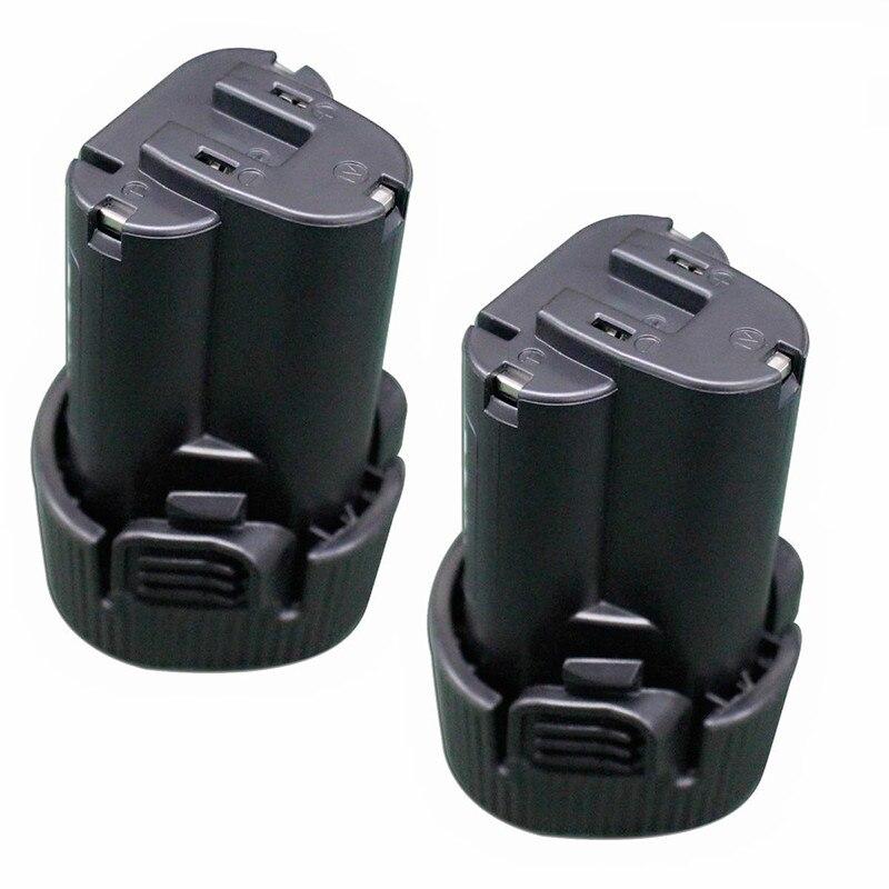 2 pièces 10.8 V 3000 mAh Lithium ion batterie remplacement pour MAKITA 194550-6 194551-4 BL1013 BL1014 195332-9 outil électrique