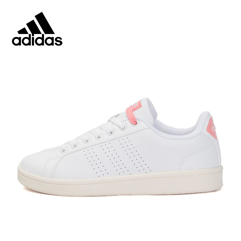 Official Adidas NEO Label Women's Skateboarding Shoes Sports Sneakers Leather Leisure New Arrival official new arrival adidas neo label baseline men s leather low top skateboarding shoes sneakers classic shoes