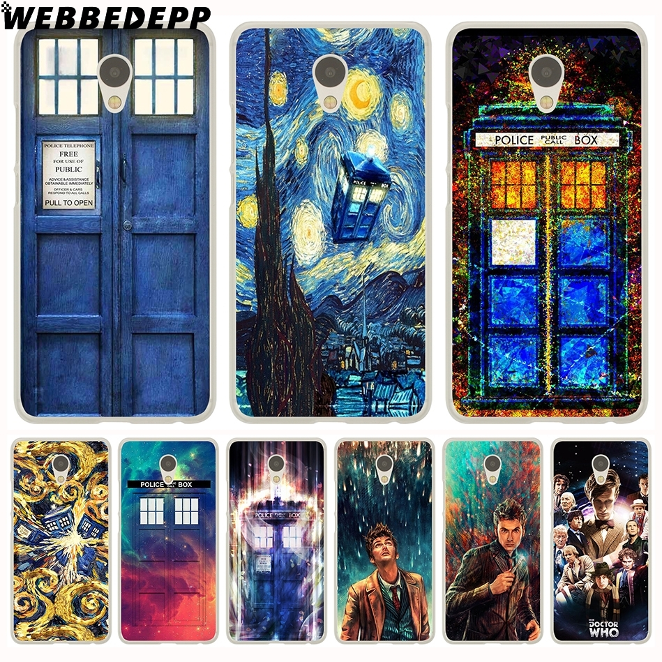 Half-wrapped Case Obedient Webbedepp Doctor Who Phone Case For Meizu M6 M5 M3 Note M6s M5s M5c M3s Mini Cover Packing Of Nominated Brand