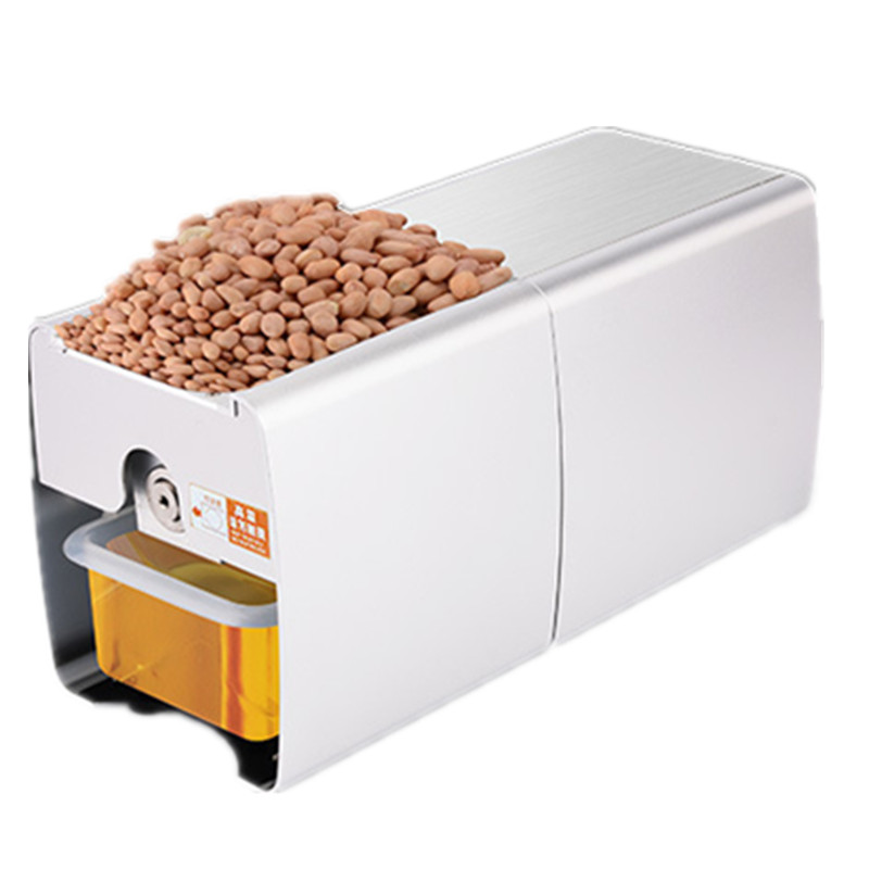 Mini Seed Oil Extraction Machine 110V/220V Small Electric Heat Cold Peanut Sesame Soybean Almond Oil Press Machine ручка cross sauvage brown chrome at0312 4
