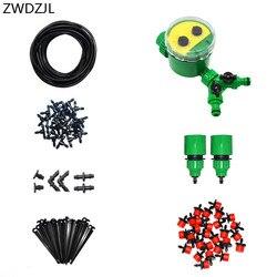 Automatyczny system nawadniania ogrodu 2 way zestaw do podlewania do nawadniania kropelkowego zestaw narzędzi ogrodniczych automatycznego podlewania ogrodu 1 zestaw
