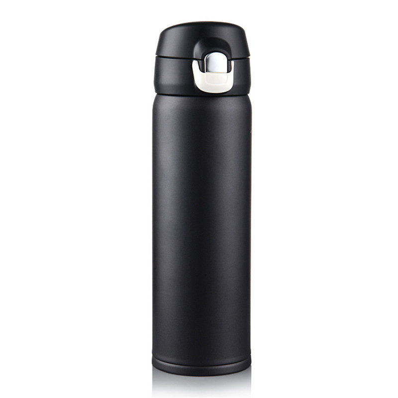 500ML Thermos Cup Stainless Steel Thermos Mug Drinkware Lady's Travel Thermo Coffee Cup Thermoes Vacuum Fask Cups Insulated Mug