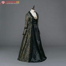 f7ee62ec2 Vestidos medievales de época gótica vestido de brocado renacimiento  Steampunk recreación ropa de mujer(China
