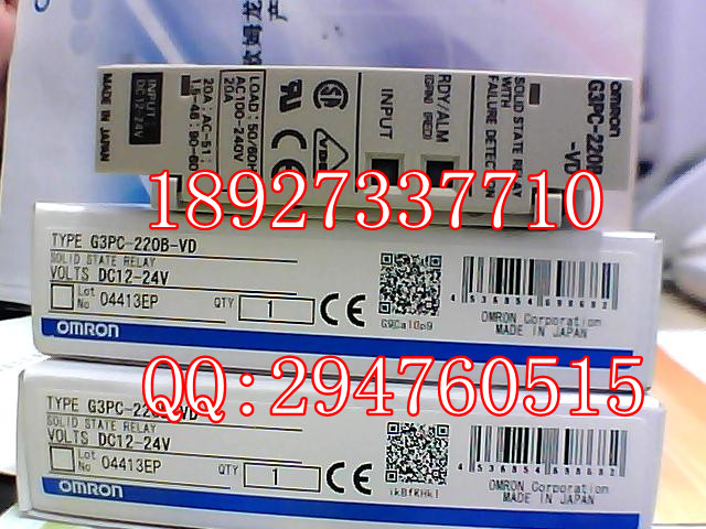 [ZOB] New original OMRON Omron solid state relays G3PC-220B-VD DC12-24V factory outlets [zob] 100% brand new original authentic omron omron proximity switch e2e x1r5e1 2m factory outlets 5pcs lot