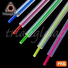 Tubo Trianglelab PFA 260 Celsius alta resistencia a la temperatura MMU para ender3 i3 anet mk8 Bowden extrusor 1,75mm filamento