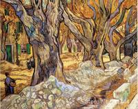 Маслом Воспроизведение большие плоскости Ёлки Винсента Ван Гога живопись холст ручная роспись высокое качество