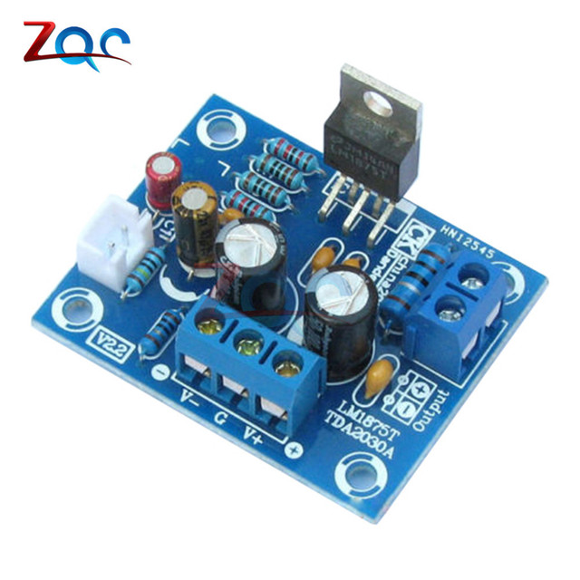 20 wát HIFI LM1875T Mono Board Khuếch Đại Kênh Stereo Khuếch Đại Âm Thanh Module Kit đối với DIY Mạch Tích Hợp