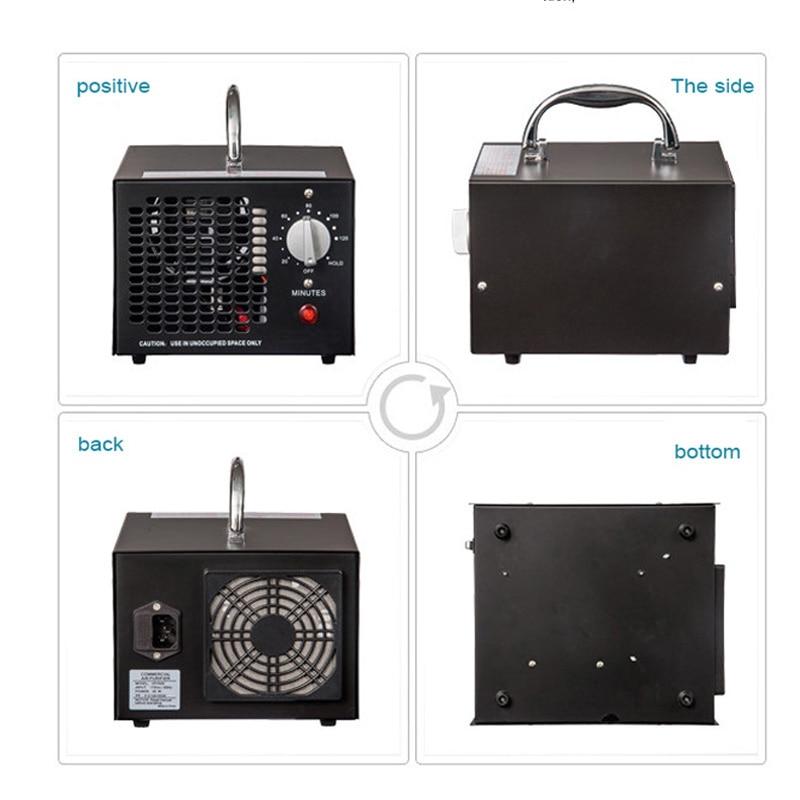 ER-150 Tragbare Ozon Generator Luft Purifier Luft Reiniger Tragbare Ionisator luft reiniger für heim büro Ozon desinfektor 1pc