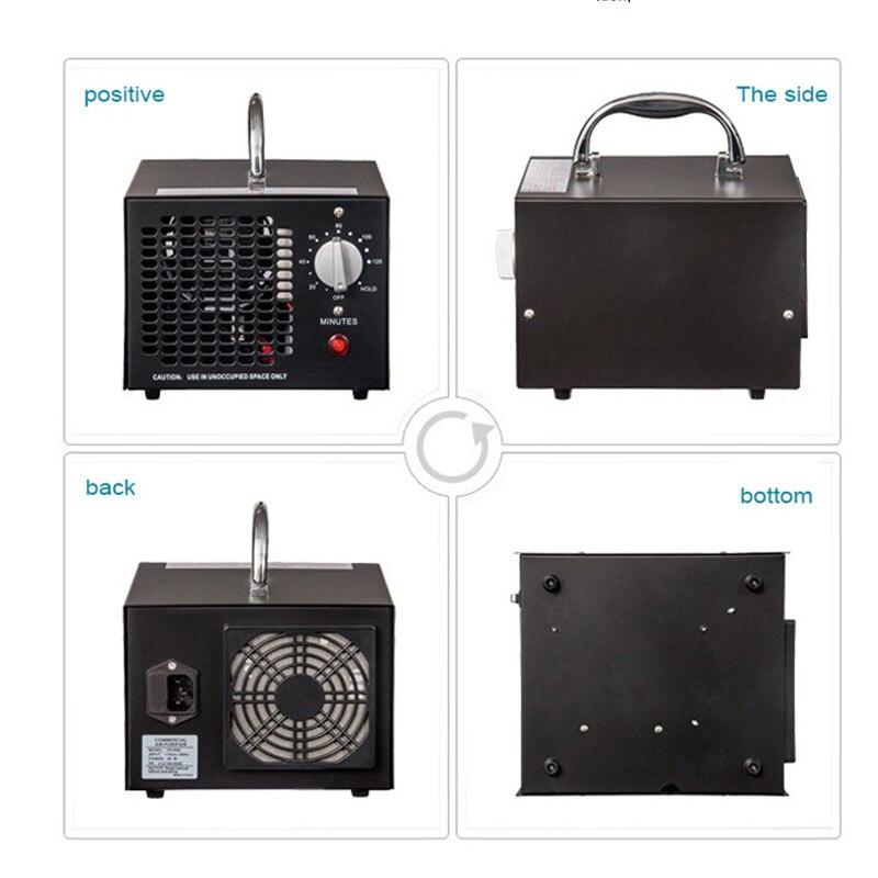 HE-150 przenośny Generator ozonu oczyszczacz powietrza filtr powietrza przenośny oczyszczacz powietrza z jonizacją dla home office Ozone dezynfektor 1pc