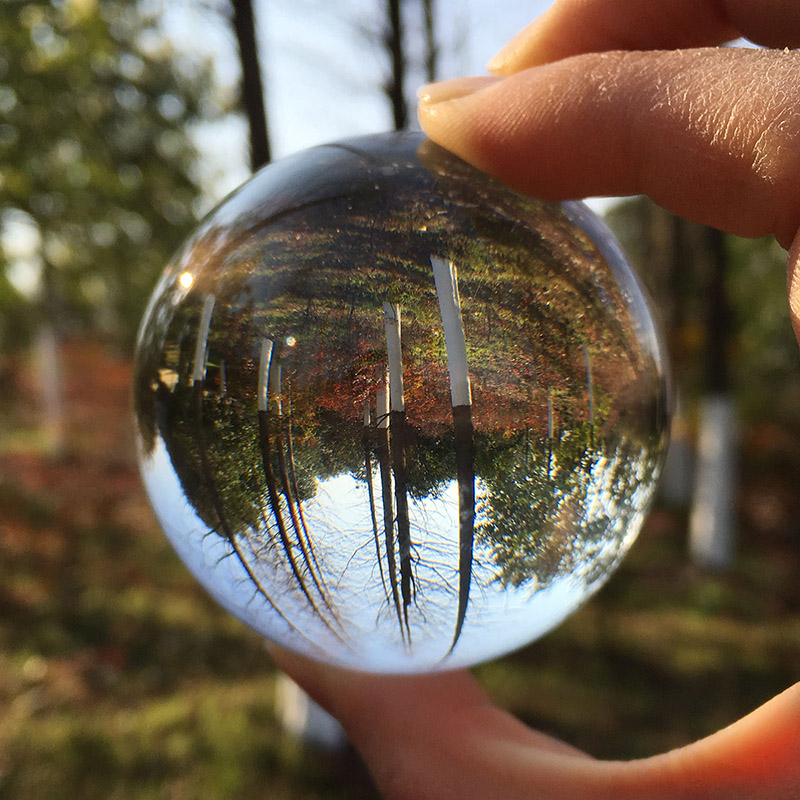 Aliexpress buy mm rare clear crystal ball sphere