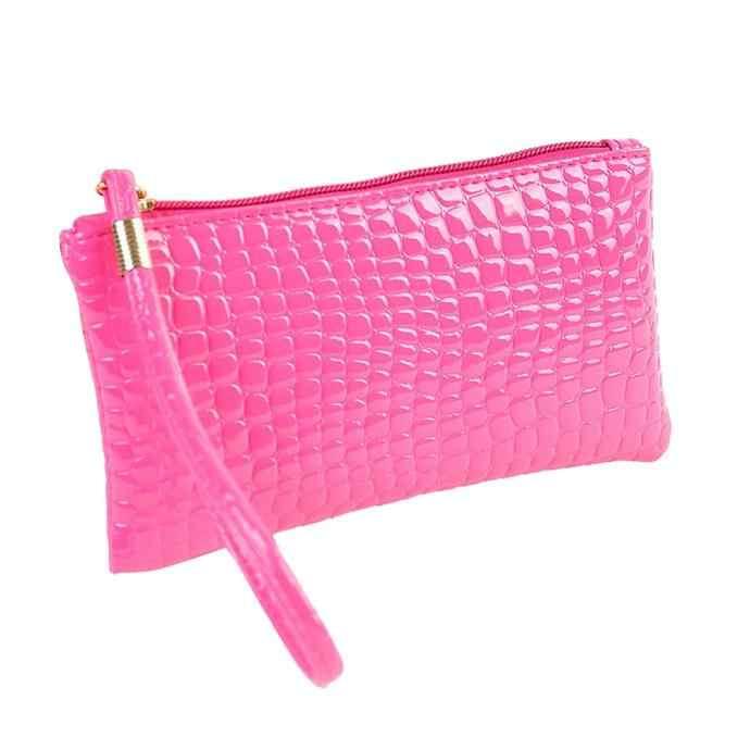 Женские сумки ежедневные клатчи крокодил для женщин сплошной цвет сумка из искусственной кожи сумки Мешочки femme 2018 nouveau # YL