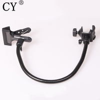 Photography Studio Portable Multifunctional Dodecahedron Plate Clip / Photo C Clamp Photo Studio Accessory