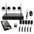 4CH 960P HD Беспроводная система видеонаблюдения Купольная мощная WIFI NVR ip-камера IR-CUT CCTV камера безопасности комплекты видеонаблюдения