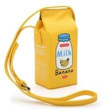 Новая бутылка для женщин форма кошелек женские сумки через плечо Корейская версия сумки-мессенджер молочная Диагональная Сумка для телефона сумка на плечо
