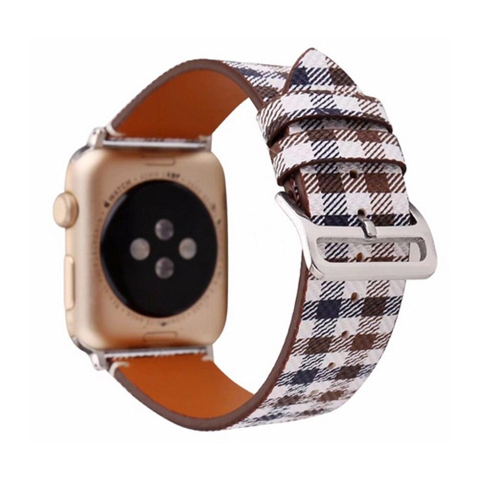 CRESTED für apple watch iwatch 42mm 38mm serie 3/2/1 uhr band Echtes Leder armband ersatz armband handgelenk gürtel