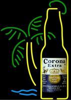 Corona Extra Bottle Glass Neon Light Sign Beer Bar