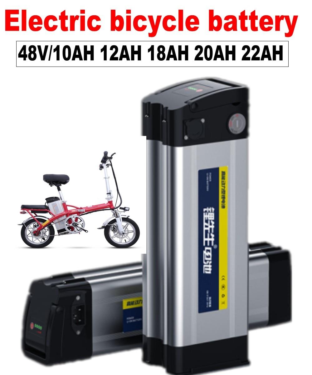 Tüketici Elektroniği'ten Yedek Piller'de Kanavano 48V elektrikli bisiklet pil lityum şarj edilebilir pil paketi özel arayüzü 18650 ups 22Ah 20AH 25ah