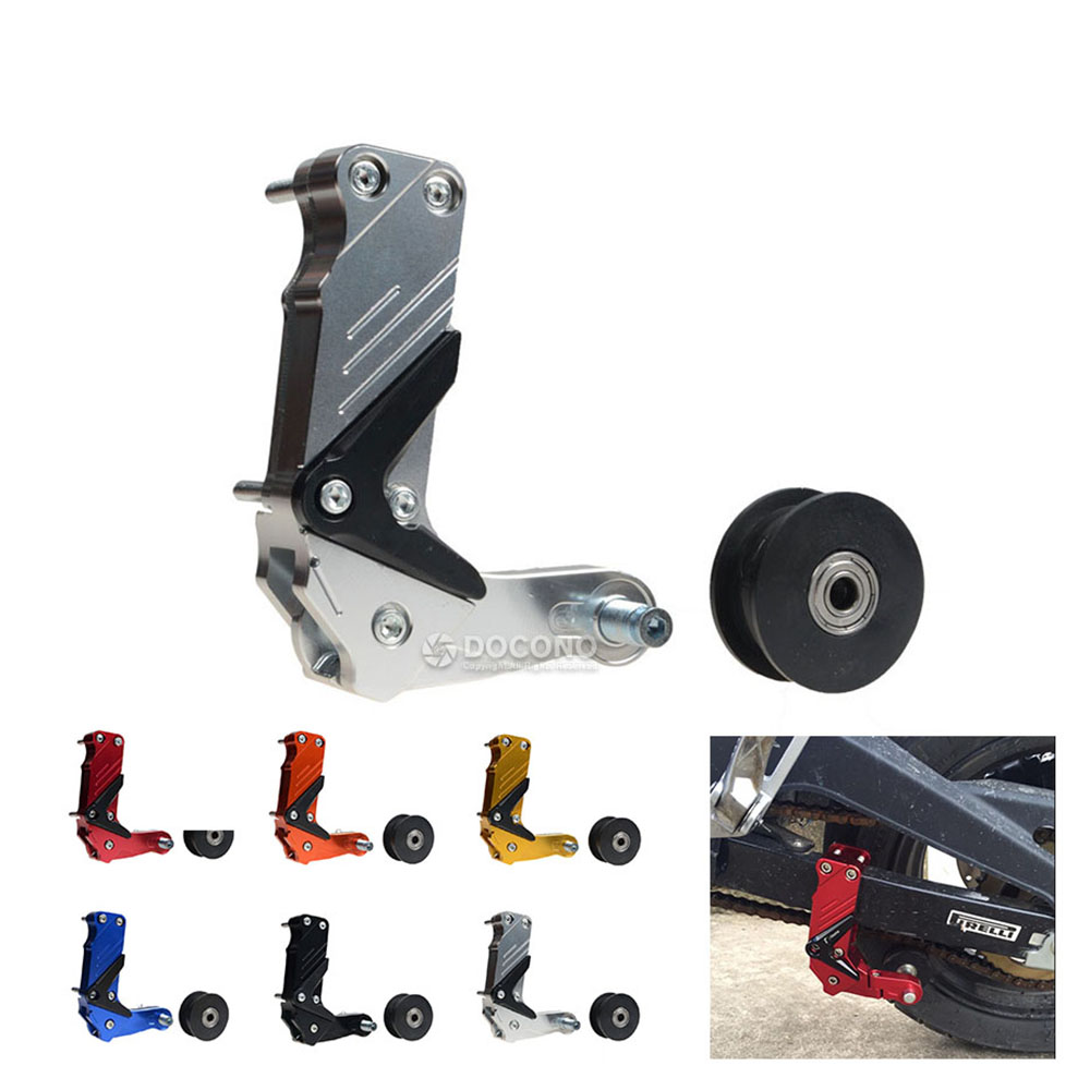 Us 1439 10 Offmotorcycle Cnc Aluminum Chain Tensioner Auto Adjuster For Kawasaki Versys 1000 Zx 14r Ohlins Ninja Zx 14r For Yamaha Yzf R6 Etc In