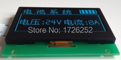 NoEnName_Null 2.4 inch 10PIN Green OLED Display Screen Module SSD1309 Drive IC128*64 SPI Interface 5V