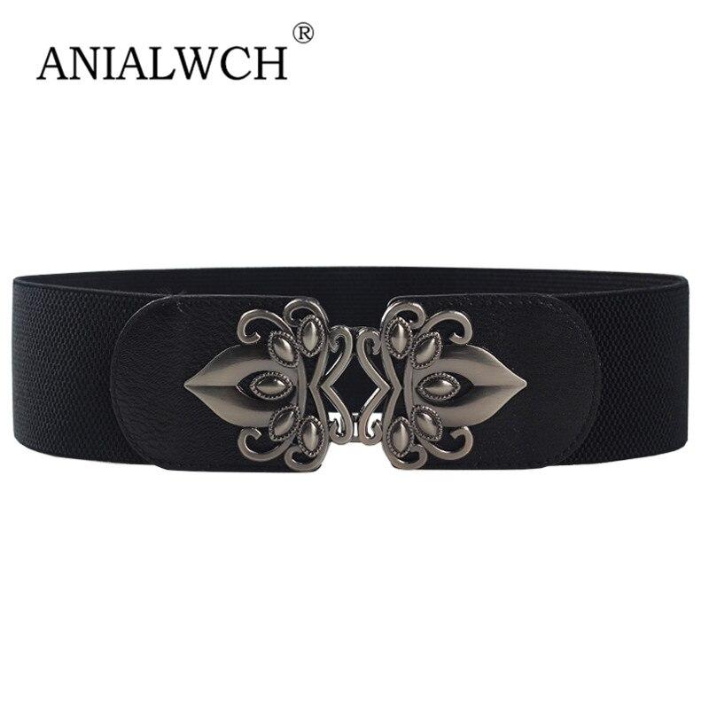 65x6cm Autumn Belts Lady High Quality Women's Waist Elastic Cummerbunds Wide Belts For Women Dress Belt Cinturon Mujer J207