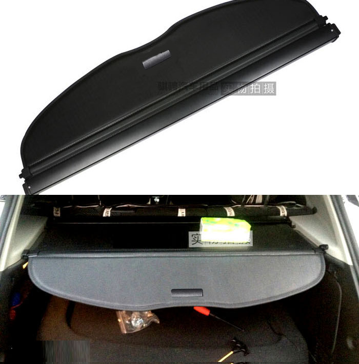 Accessories Fit For nissan qashqai J11 2014-2016 cargo blind cover parcel shelf shade trunk liner screen retractable boot cover car rear trunk security shield shade cargo cover for nissan qashqai 2008 2009 2010 2011 2012 2013 black beige